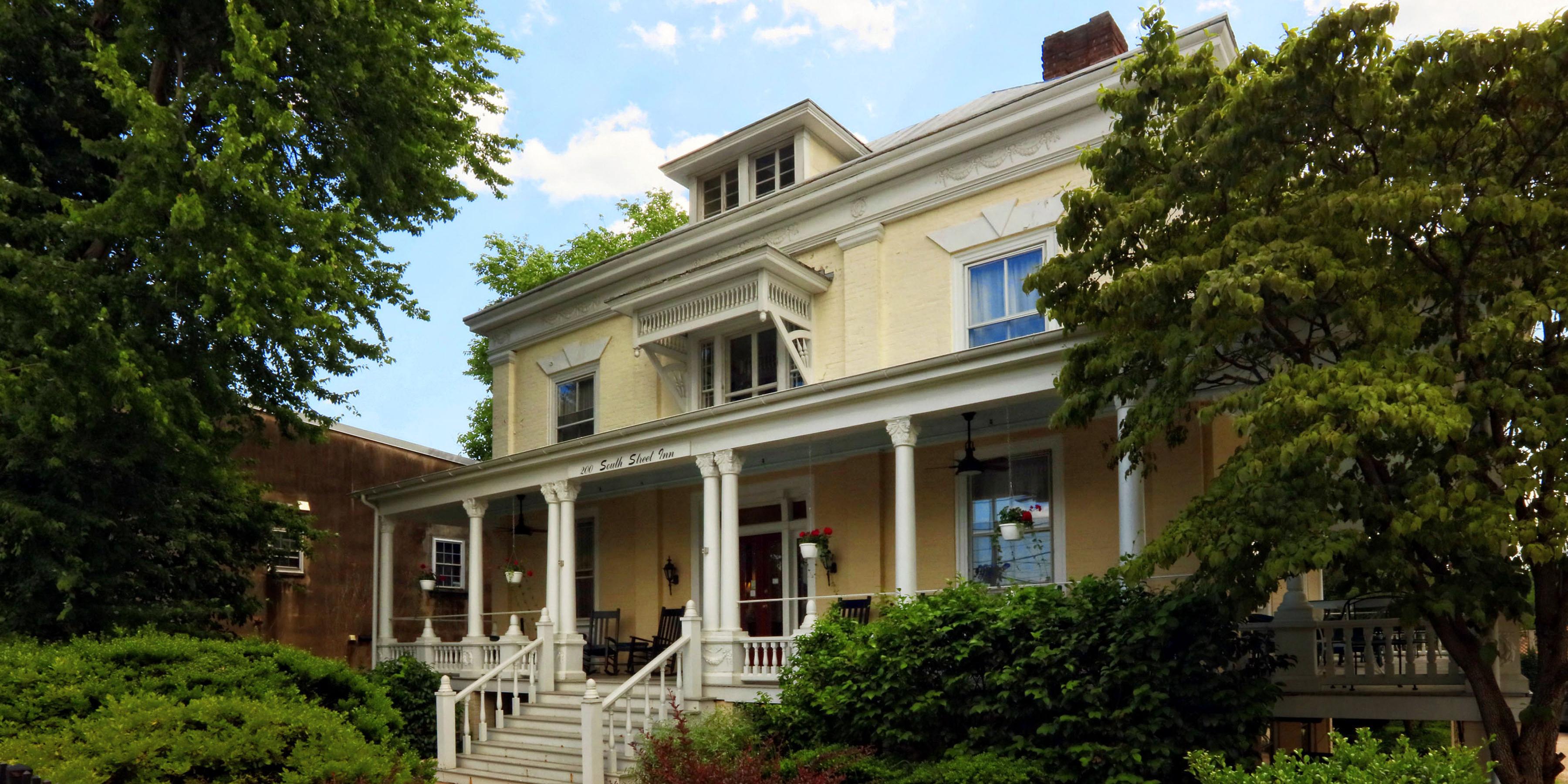 200 South Street Inn In Charlottesville Va Home